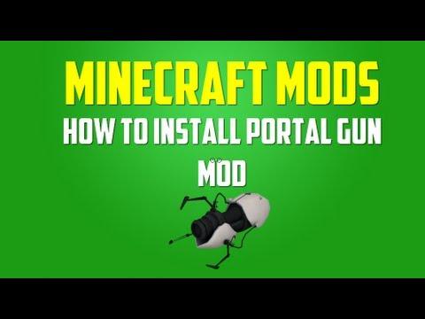 Minecraft Mods: How to Install Portal Gun Mod (1.5.2)