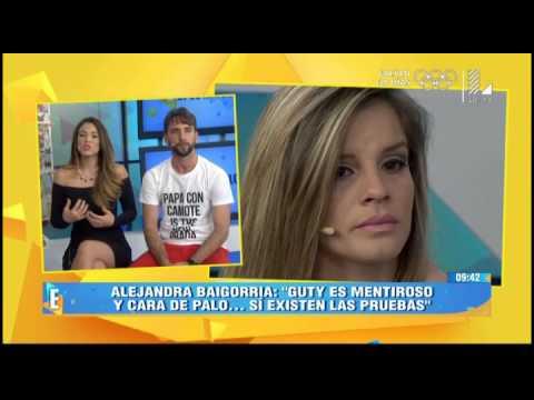 Alejandra Baigorria Llora Tras Confesar Agresión De Guty Carrera