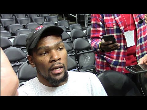 Kevin Durant On Talking Trash To LeBron James During The NBA Finals. HoopJab NBA