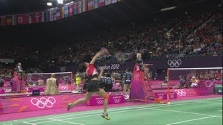 Firdasari (INA) v Zaitsava (BLR) - Women's Badminton Group O - Full Replay - London 2012 Olympics