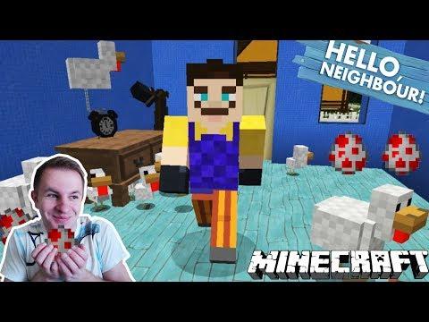 №615: СОСЕД С ЯЙЦАМИ - ПРИВЕТ СОСЕД в МАЙНКРАФТ(hello neighbor minecraft)