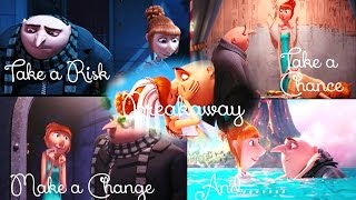 Gru and Lucy_Breakaway (Kelly Clarkson_Official Clip)