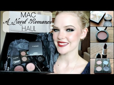 MAC A NOVEL ROMANCE COLLECTION | Haul, Dupes, Review
