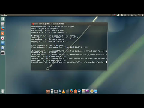 Avg Antivirus in Ubuntu (14.04)