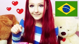 I speak Portuguese? My love is Brazil ?