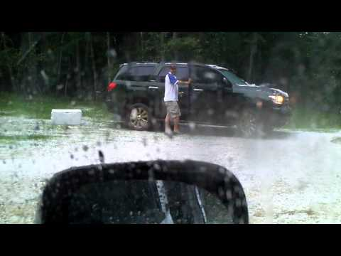 HAIL! Shirley Lake - Aug 2011.MP4