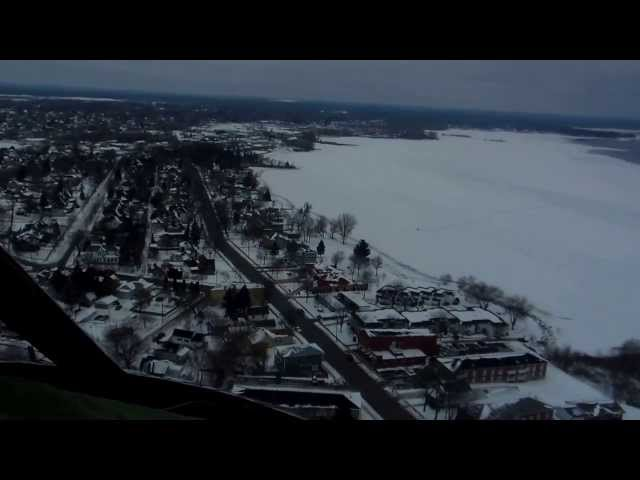Enstrom Helicopter Flight Dec. 2013 - Turbine Experimental Ship