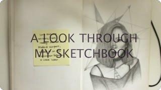 Sketchbook Tour #1