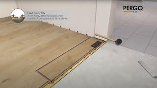 Posa pavimenti in legno Pergo (en)