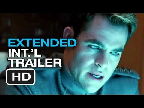 Star Trek Into Darkness Bad Robot Extended International TRAILER (2013) - Chris Pine Movie HD