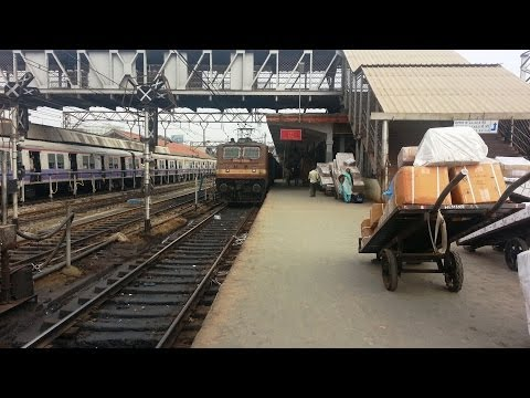 First Ever Ride Behind Wap-4 From Pune In Indore Express...! video