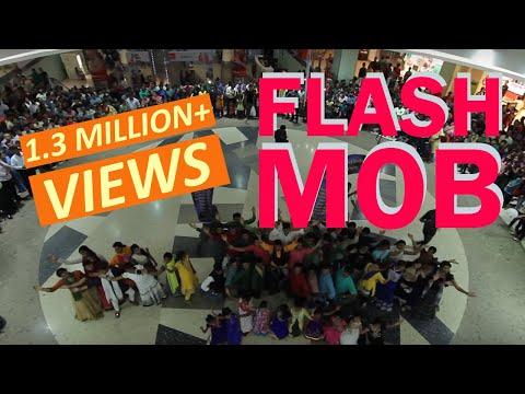 First Ever Hare Krishna Kirtan Flash Mob