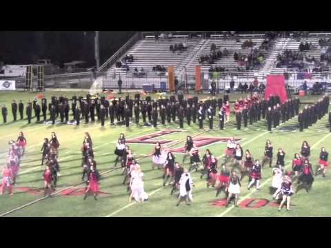 Lake Travis Cavalettes and Band, Thriller, Fall 2011