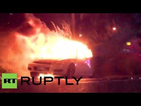 Incendios, saqueos y enfrentamientos, saldo tras el veredicto del caso Ferguson