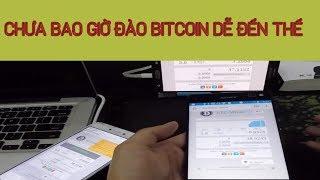 Hướng dẫn đào Bitcoin trên điện thoại và máy tính hợp tác với google đã rút được về
