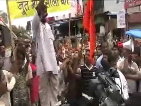 Indian Hindu Extremist Protest Against Indian Muslim Organization Simi video