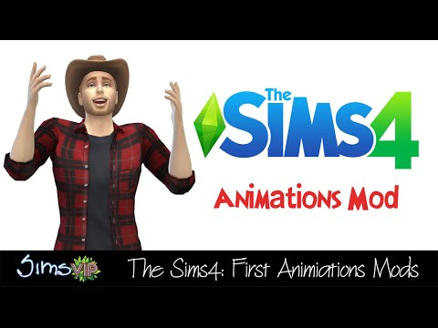 The Sims 4 (CAS): First Animations Mods