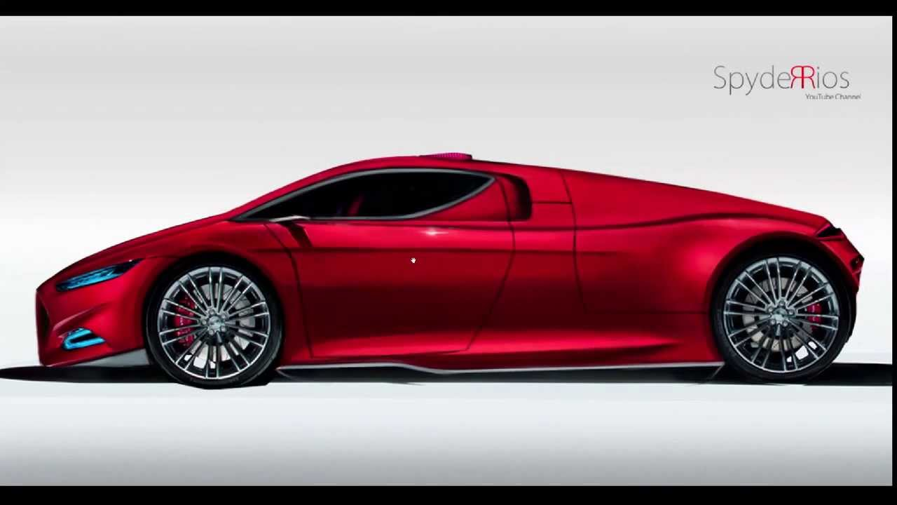 future ford gt supercar concept youtube