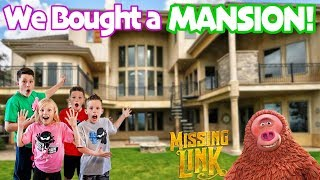 Ninja Kidz Mansion Tour!  Missing Link