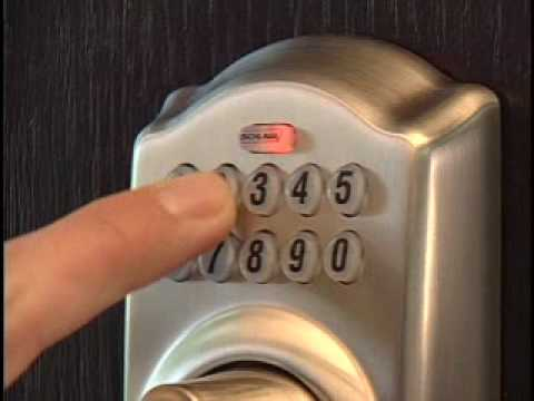Operating Your Be365 Keypad Deadbolt Youtube