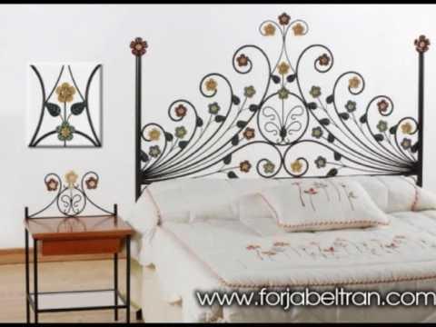 Cabeceros de forja muebles y decoracion en forja youtube for Decoracion de muebles