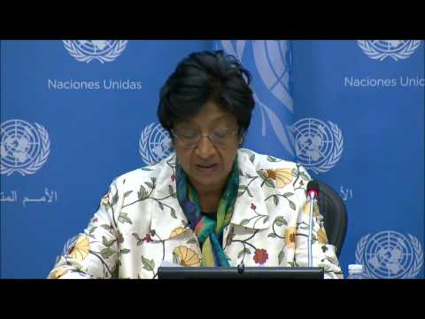 At UN on Rape, Pillay Calls Minova Cases Too Slow, Ladsous Won't Answer on Mali Peacekeepers' Rape