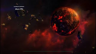 """Starcraft 2 Wings of Liberty: """"All In"""" (vs Air) Brutal - Destroy All Zerg Bases"""