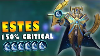 ESTES 150% CRITICAL STRIKE CHANCE GALAXY DOMINATOR SKIN GAMEPLAY