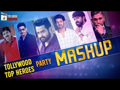 Tollywood Top Heroes Party Mashup | Rock Your Body | Pawan Kalyan | Mahesh Babu | Jr NTR |Allu Arjun