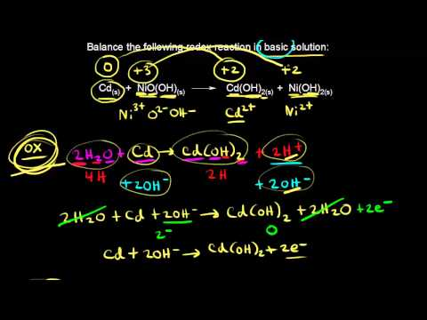Nickel-cadmium battery   Redox reactions and electrochemistry   Chemistry   Khan Academy