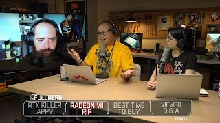 RTX gets a killer app, Radeon VII dies, the best time to buy hardware, Q&A | The Full Nerd ep. 104