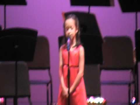 Anna Olivia Herrera Sings In This Moment At Ba Teacher Of The Year Gala ..mod video