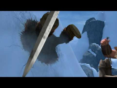 HOW TO TRAIN YOUR DRAGON - Dragon-Viking Games Vignettes: Ski Jump