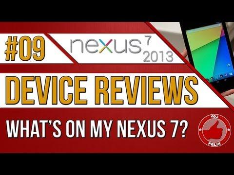 Nexus 7 2013 Review - What's on My Nexus 7?