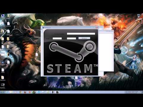 Как взломать стим без логинов и паролей! Взлом Steam аккаунтов!
