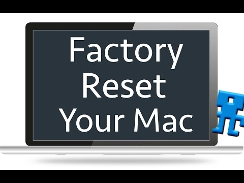 Restore Your Mac To Factory Settings Without Disc - OS X Yosemite, iMac, Macbook Pro, Air, Mini