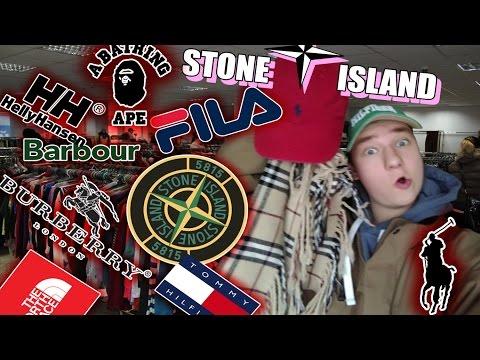 СЕКОНД ХЕНД ПАТРУЛЬ - ЖИРНЫЙ ЗАВОЗ (Stone Island, Tommy Hilfiger, BAPE, The North Face, Burberry)