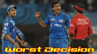 Top 10 Worst Umpire Decisions in Cricket History Ever