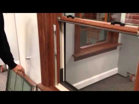 Champion windows sash installation