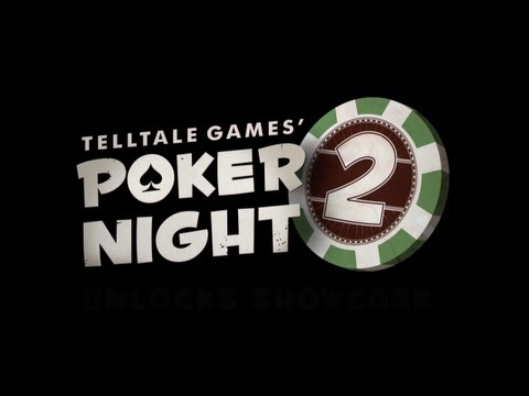 Telltale Games: Poker Night 2 | Unlocks Showcase Trailer [EN] (2013) | HD
