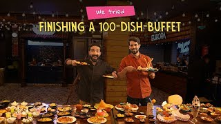 We Tried Finishing A 100-Dish-Buffet | Ft. Arushi & Akshay | Ok Tested