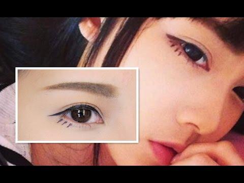 Cute eye makeup inspired by Michiyo Ho ♡ SYLVIA EASTER ...