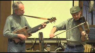 Cigar Box Fiddle and Guitar
