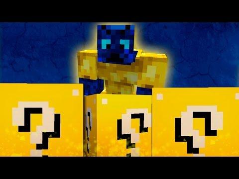 Monstruo Azul - desafío De La Suerte - #24 Lucky Blocks video