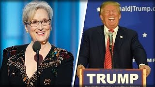 AFTER MERYL STREEP ATTACKED TRUMP, TRUMP PULLED OUT HIS SECRET WEAPON & RUINED HER