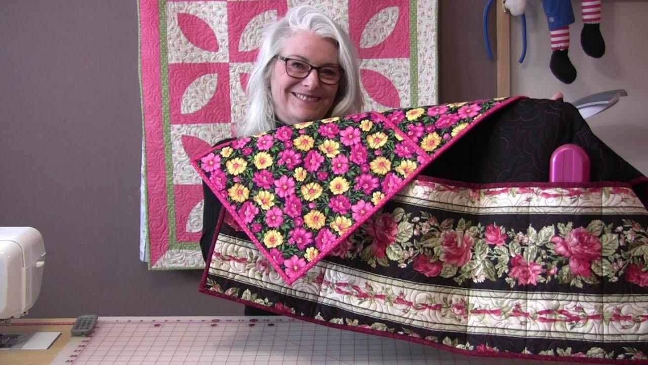 Bedside Pocket Caddy How to Make a Bedside Pocket