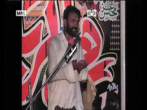 Zakir Asad kalyar majlis aza 11 ramzan 2017 pindi bhattiyan