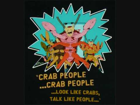 crab people song