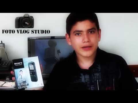 Gravador Digital Sony ICD-PX312 (Teste)
