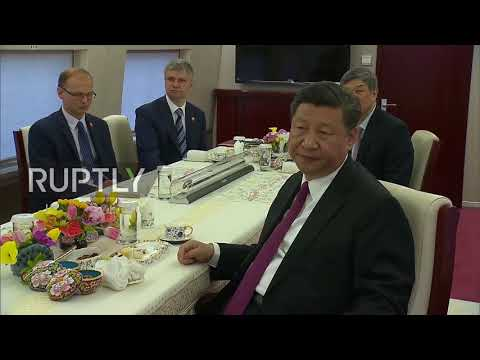China: Putin and Xi Jinping try out brand new high-speed train